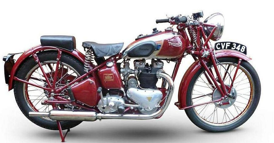 Triumph Speed Twin 1937, Mesin Twin Paralel